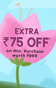 Extra Rs. 75 OFF*