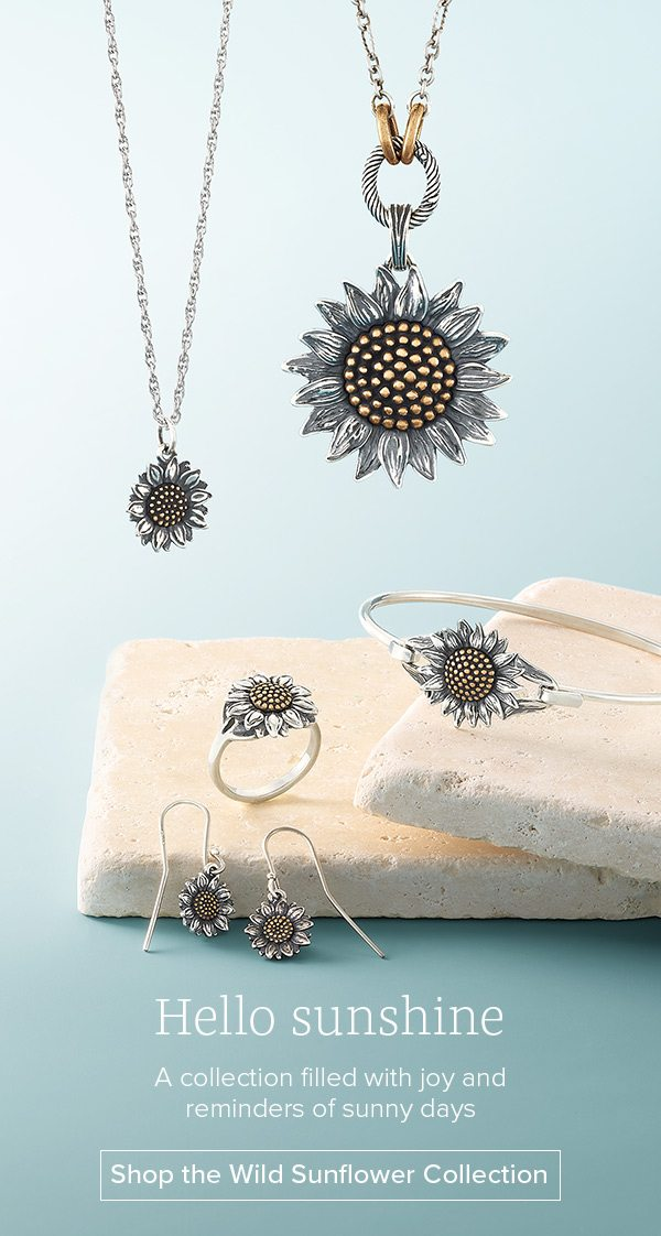 Hello sunshine - A collection filled with joy and reminders of sunny days - Shop the Wild Sunflower Collection