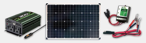 NATURE POWER 110 WATT COMPLETE SOLAR PANEL KIT