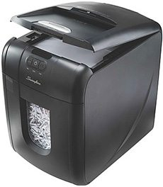 Swingline® Stack and Shred 130X Auto-Feed Cross-Cut Shredder