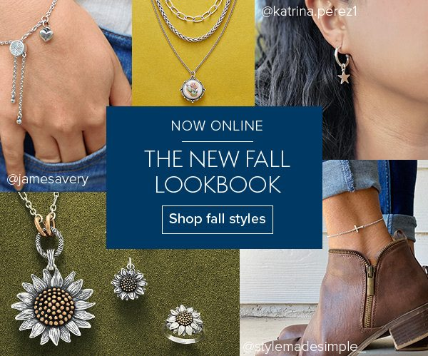 NOW ONLINE The new Fall Lookbook - Shop fall styles