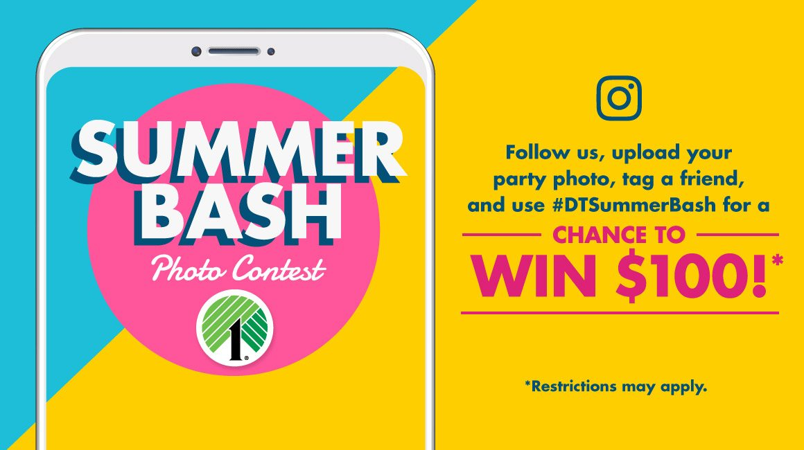Enter Our Summer Bash Instagram Contest!