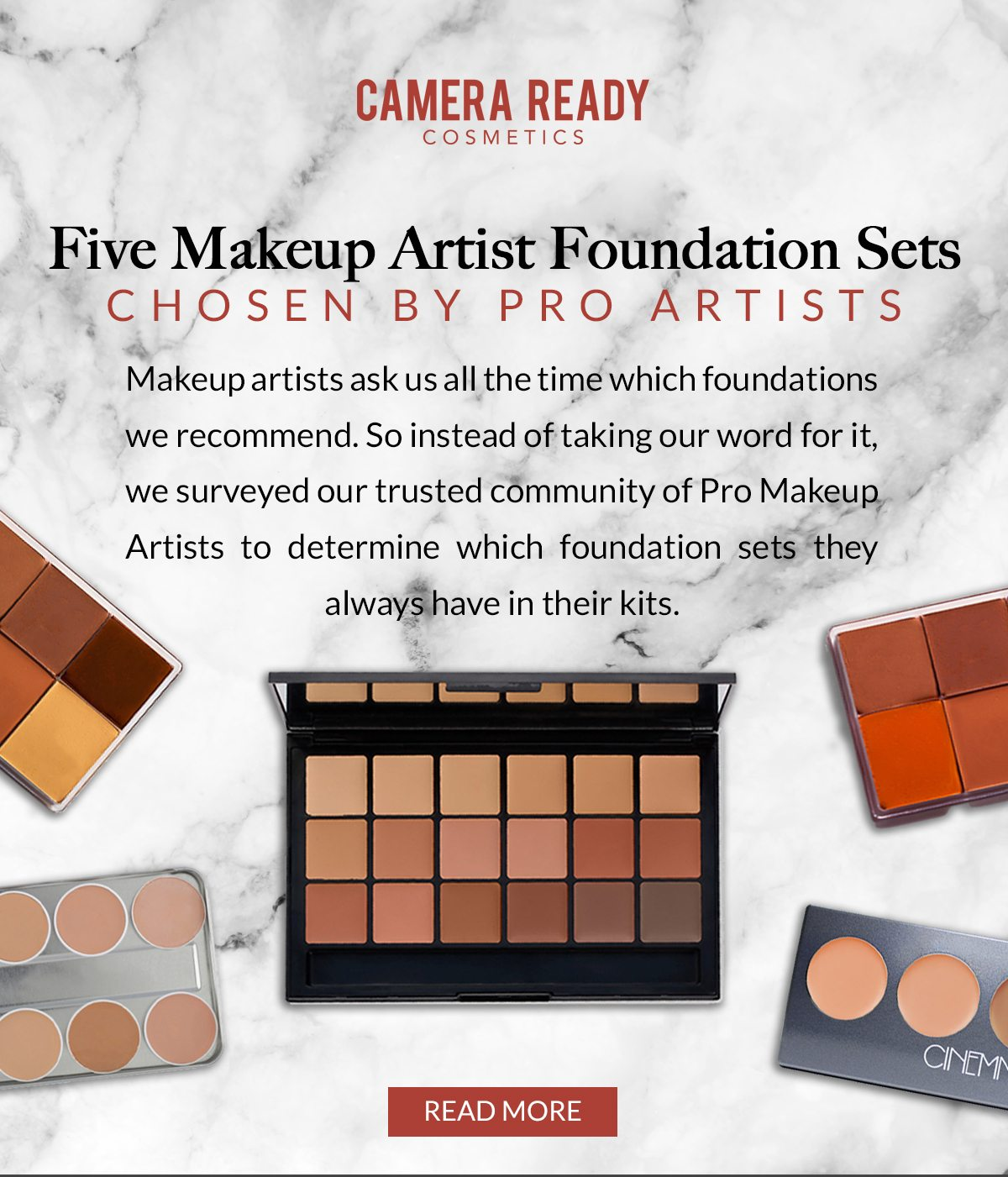 5 Pro Approved Foundation Palettes