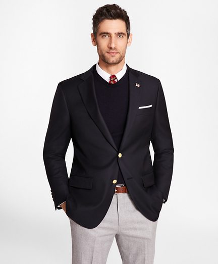 Country Club Madison Fit Saxxon™ Wool Two-Button Blazer