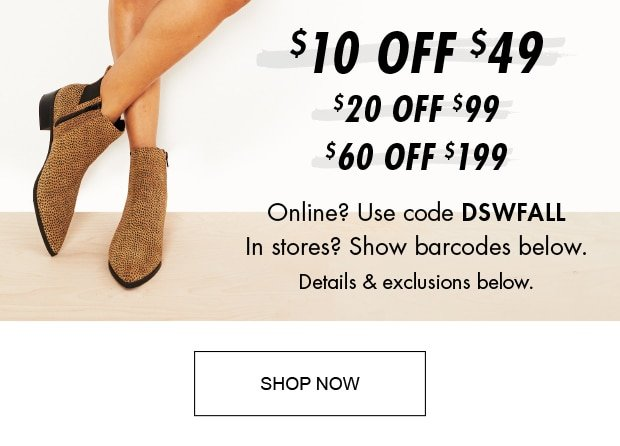 65% off clearance (!) - DSW