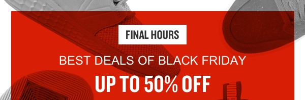 Black Friday deals - FINAL HOURS. - Finish Line Email Archive 9289e90f0