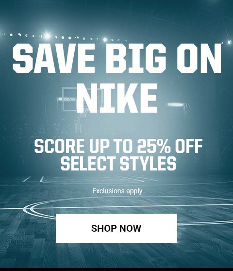 2160183c5aea Score up to 25% off select Nike styles - Eastbay Email Archive