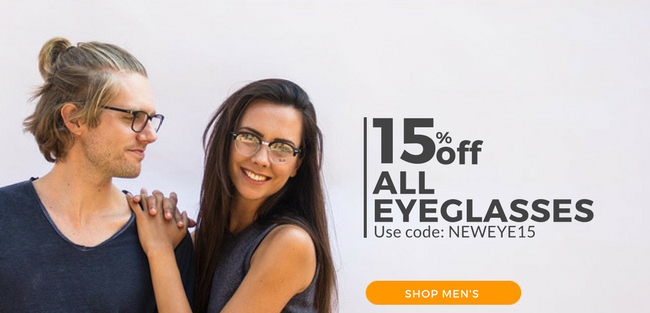 Time is almost up on your 15% eyeglasses discount (includes frames ...