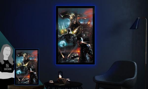 Zack Snyder's Justice League #59C Large LED Poster Sign Wall Light by Brandlite