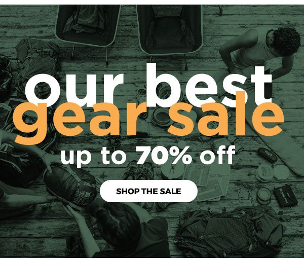 Our Best Gear Sale - Up to 70% OFF - Click to Shop the Sale
