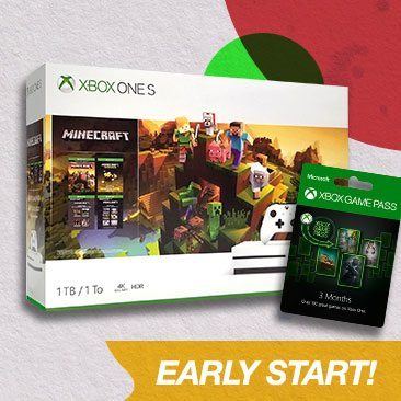 Starts Today! Early Black Friday Deals on Xbox One S +