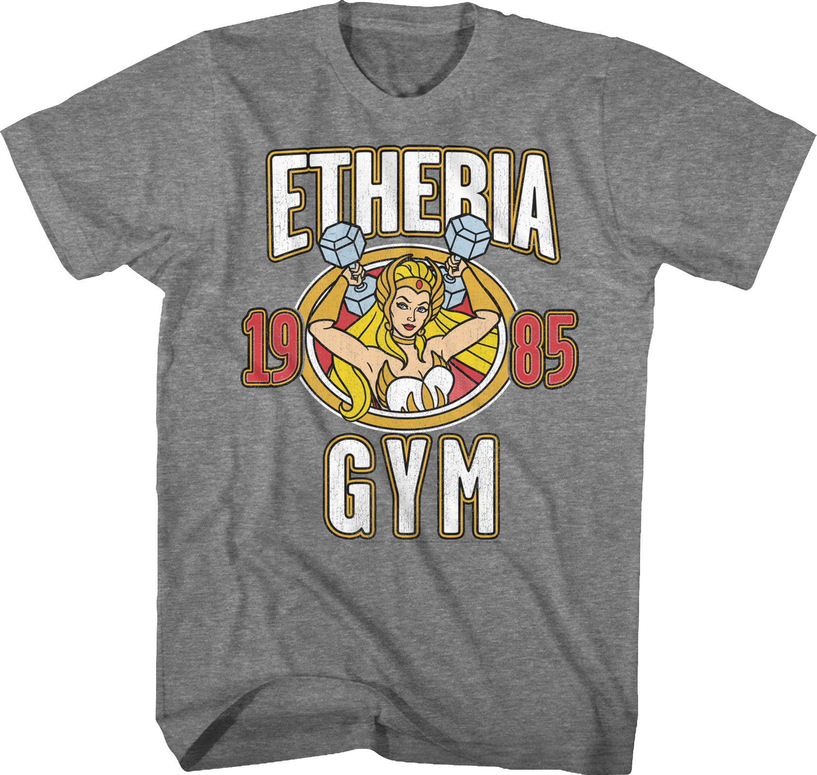 She-Ra Etheria Gym Masters of the Universe T-Shirt