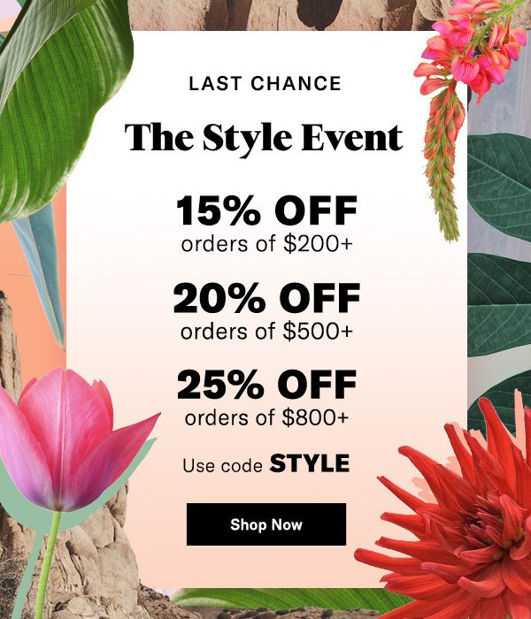 Final Hours of The Style Event