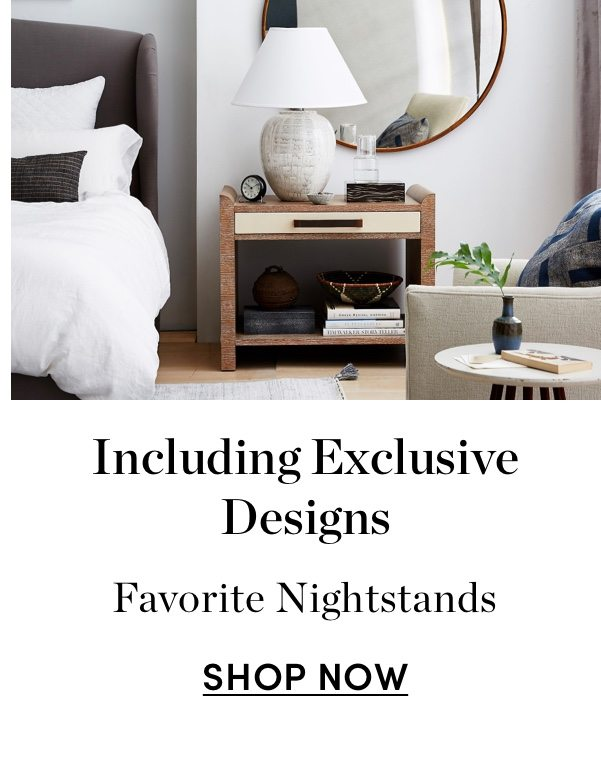 Including Exclusive Designs