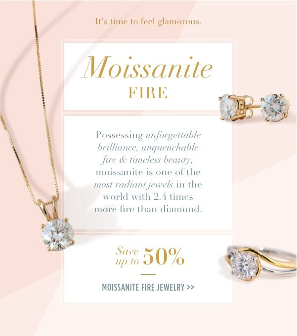 Shop Moissanite Fire Jewelry up to 50% off