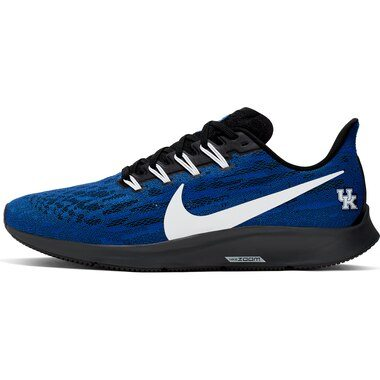 Kentucky Wildcats Nike Air Zoom Pegasus 36 Running Shoes - Royal/White