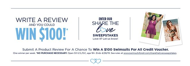 Enter Our Share The Love Sweepstakes