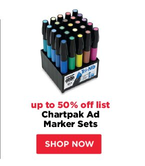 Chartpak Ad Marker Sets - up to 50% off list
