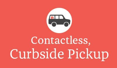 Contactless, Curbside Pickup