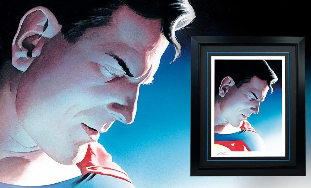 Superman Peace on Earth Fin Art Lithograph by Alex Ross