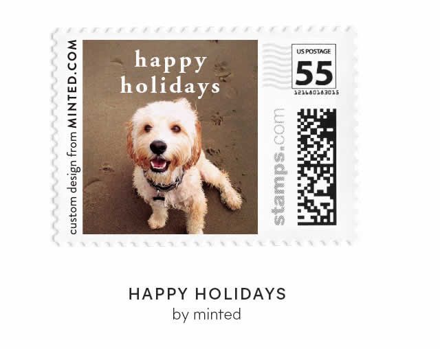 Happy Holidays by Minted