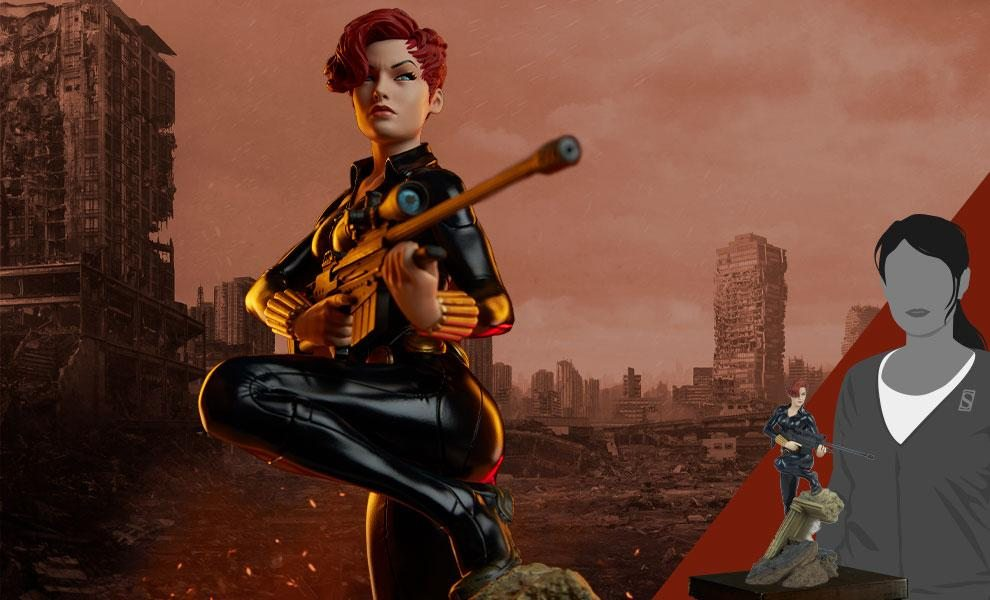 ONLY 250 WORLDWIDE Sideshow Exclusive Black Widow - Avengers Assemble - Statue