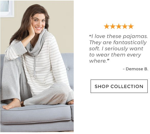 I love these pajamas. They are fantastically soft. I seriously want to wear  them 002c80b40