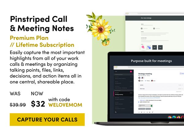 PinStriped Call & Meeting Notes   Capture Your Calls