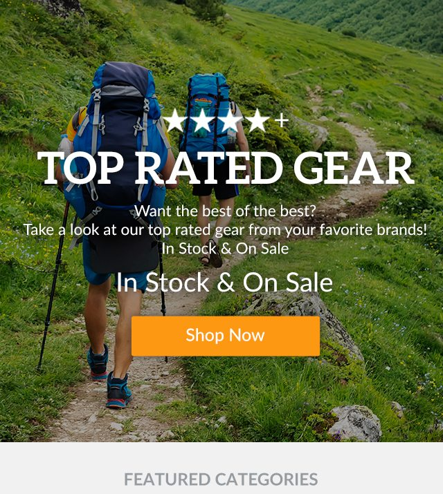 Top Rated Gear | Shop Now