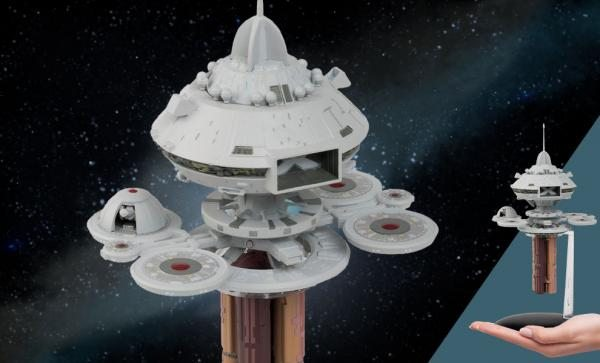 Regula I Space Laboratory (Star Trek) Model by Eaglemoss