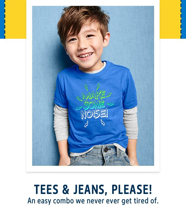 TEES & JEANS, PLEASE! | An easy combo we never ever get tired of.