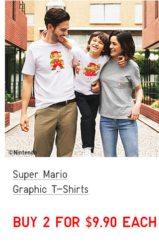 BODY6 - ADULTS SUPER MARIO GRAPHIC T-SHIRTS