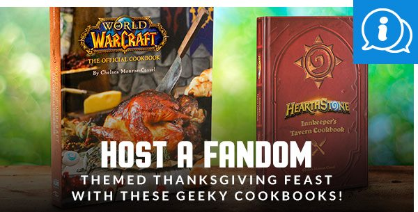 Host a Fandom-Themed Thanksgiving Feast with These Geeky Cookbooks!