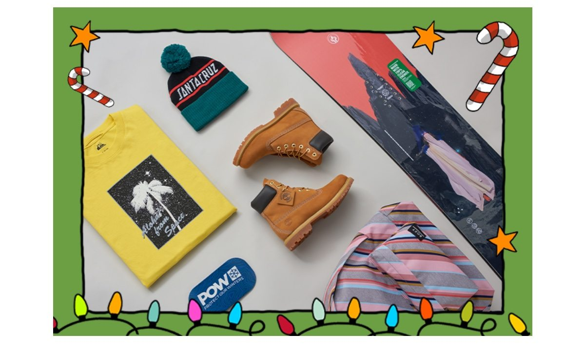 The Surfdome Gift Guide   Shop now