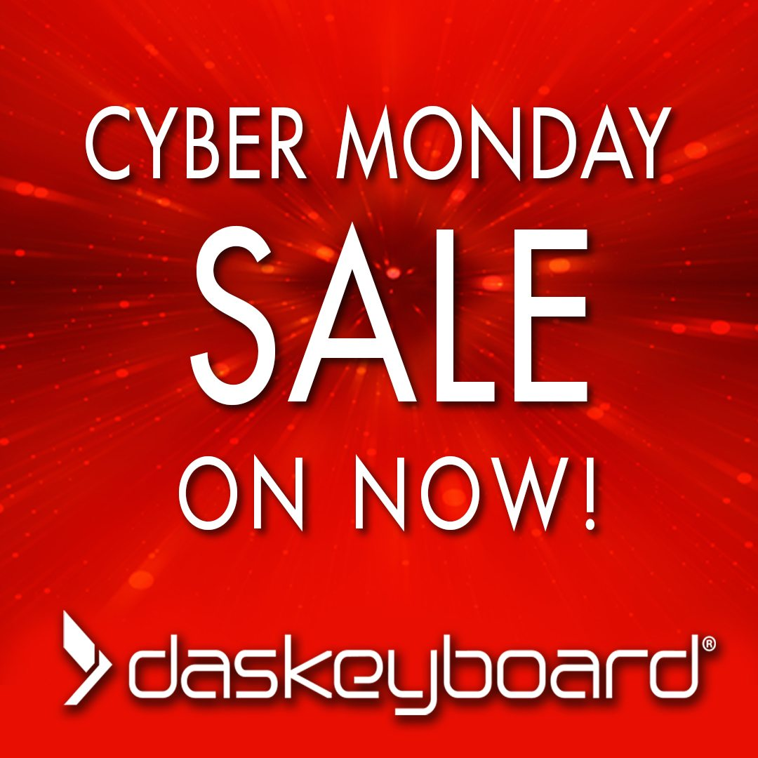 da05116ad0786 Cyber Monday Starts Now! - Das Keyboard Email Archive