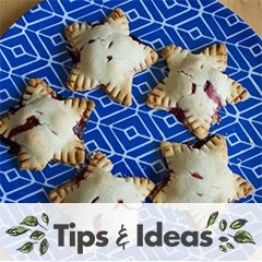 Berry Star Pies