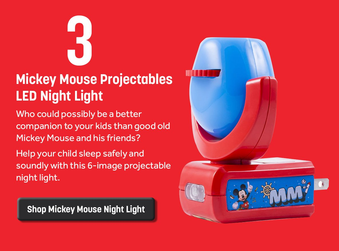 Mickey Mouse Projectables LED Night Light