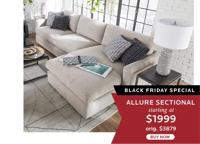 Allure Sectional $1999