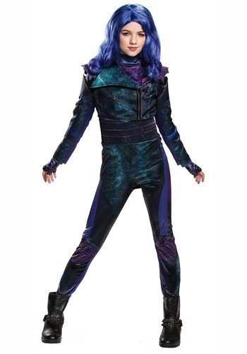 Deluxe Disney Descendants 3 Mal Girls Costume