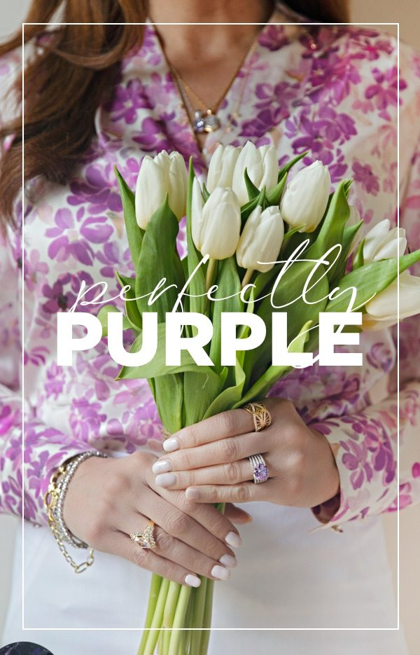 Find a variety of gorgeous purple shades