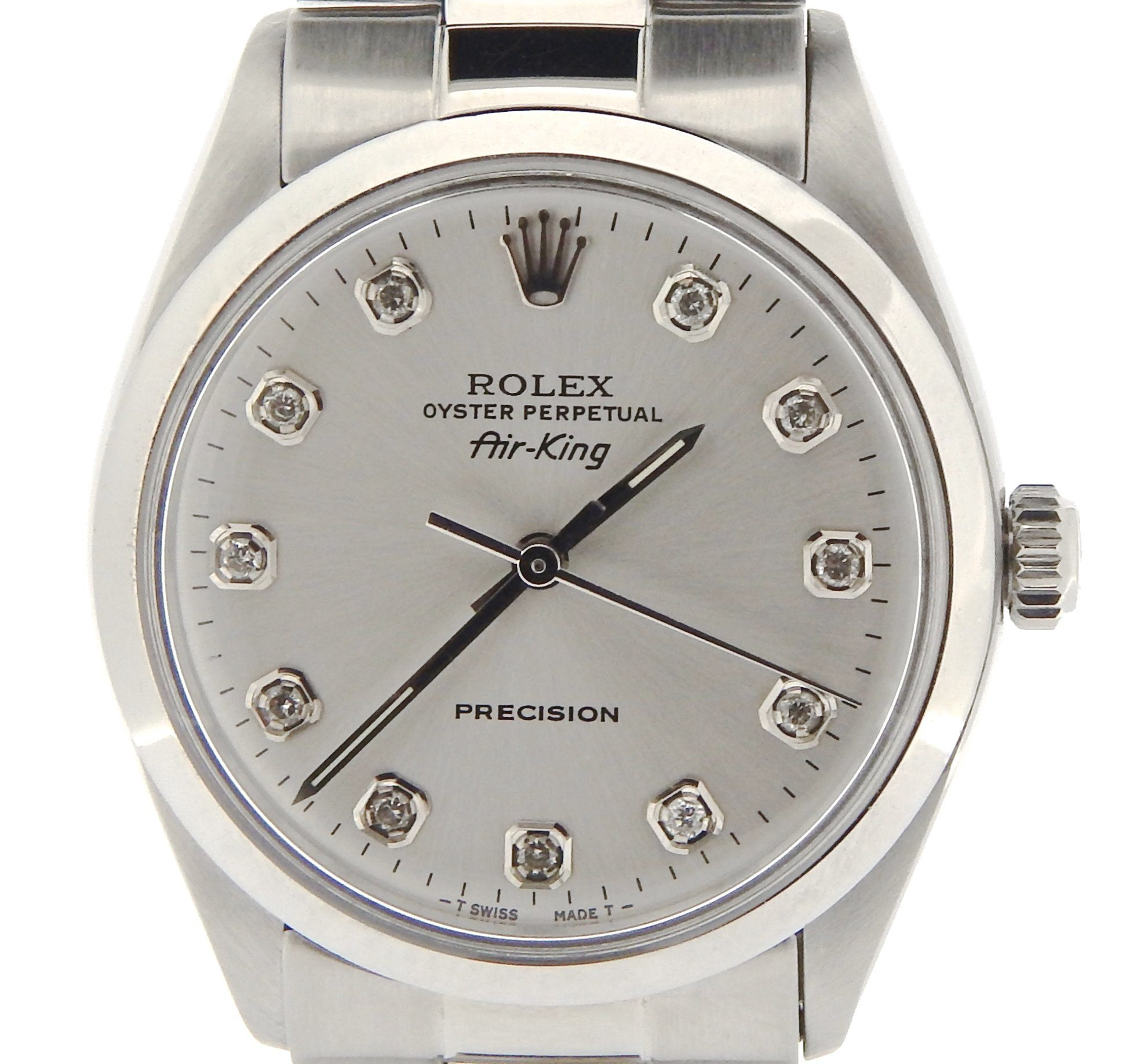 Image of Rolex Air-King 5500 34mm Mens Vintage Watch