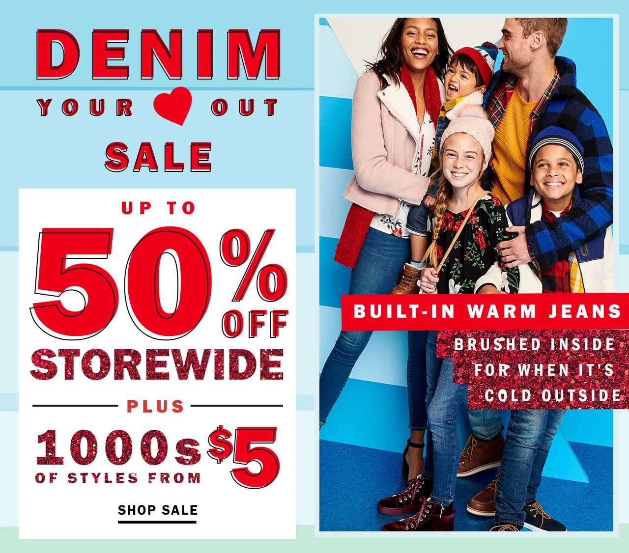$5 STYLES - Old Navy Email Archive