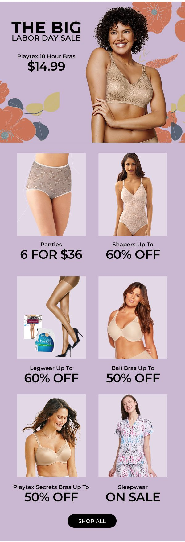 Shop The Big Labor Day Sale - Turn on your images