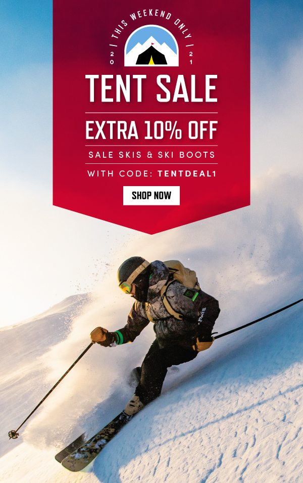 EXTRA 10% OFF SALE SKIS & SKI BOOTS