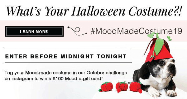 ENTER FOR A CHANCE WIN A $100 MOOD eGIFT CARD - LEARN MORE NOW!