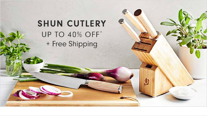 SHUN CUTLERY - UP TO 40% OFF* + Free Shipping
