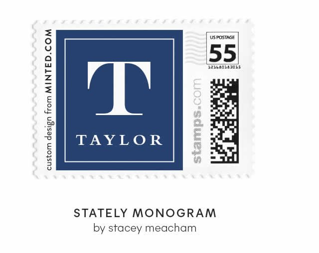 Stately Monogram by Stacey Meacham