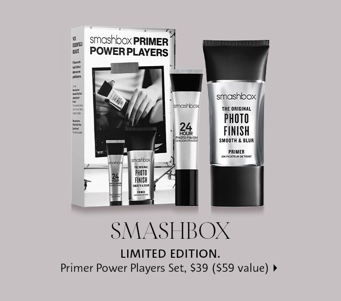 Smashbox Primer Trio