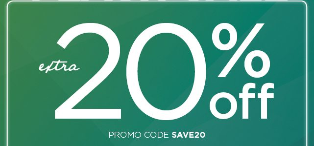 Hours Left Save 20 During The Extended Flash Sale