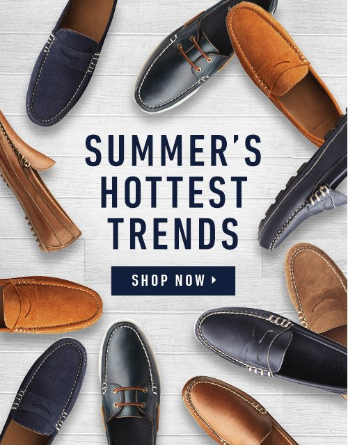 Summers Hottest Trends. Shop Now.